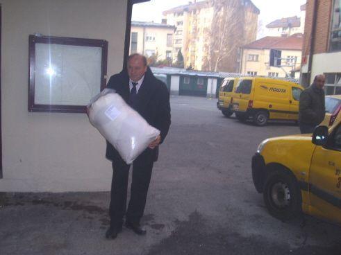 Prvi paket poslat preko ''Post eksporta'' iz Pirota
