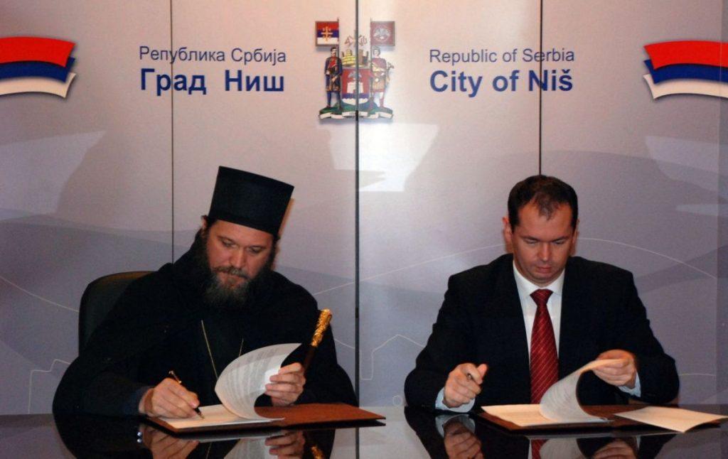 Grad na Nišavi dobija tri nove crkve