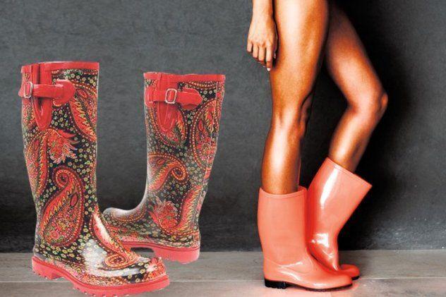 Gumene čizme su modni hit i ove sezone