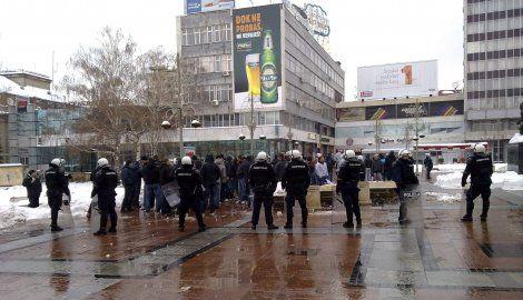 Potukli se navijači Zvezde i Partizana u Nišu
