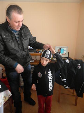 """""""Partizanovci"""" obradovali braću Kujoviće"""