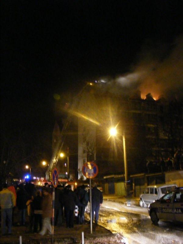 Izgorela kuća u Strojkovcu