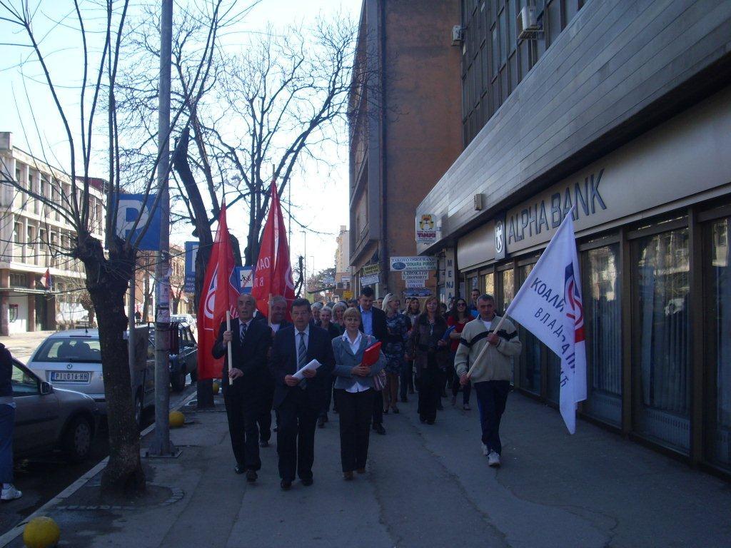 Vasićeva Koalicija prva predala listu