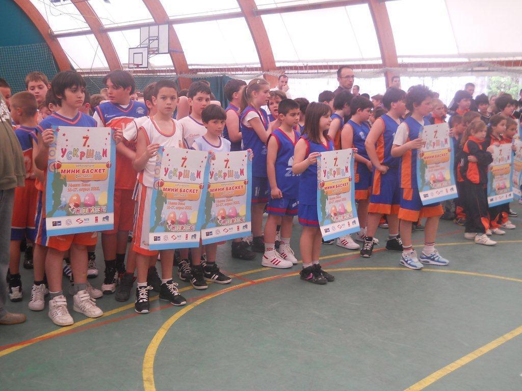 Uskršnji mini basket festival