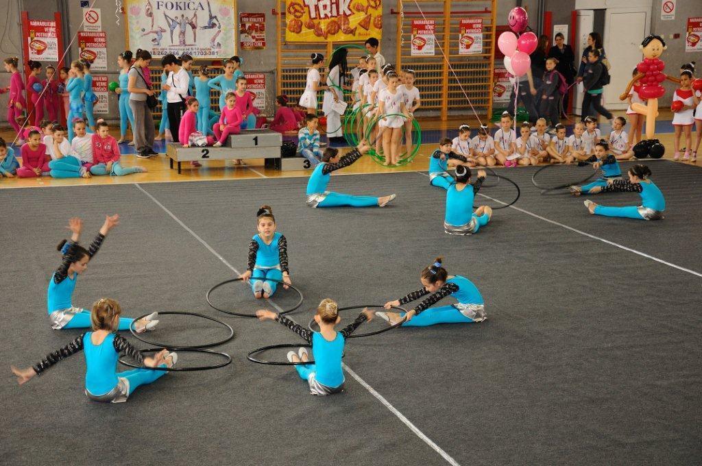 Uživancija u gimnasticiranju