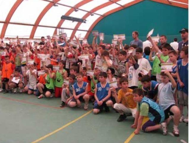 Mini basket festival u Niškoj Banji