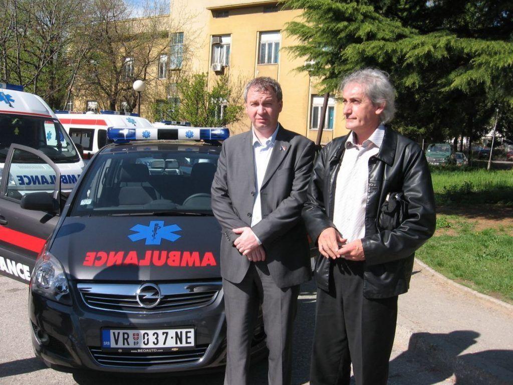 Novo sanitetsko vozilo za Dom zdravlja u Trgovištu