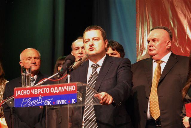 Dačić: Beograd i Vojvodina u drugom planu