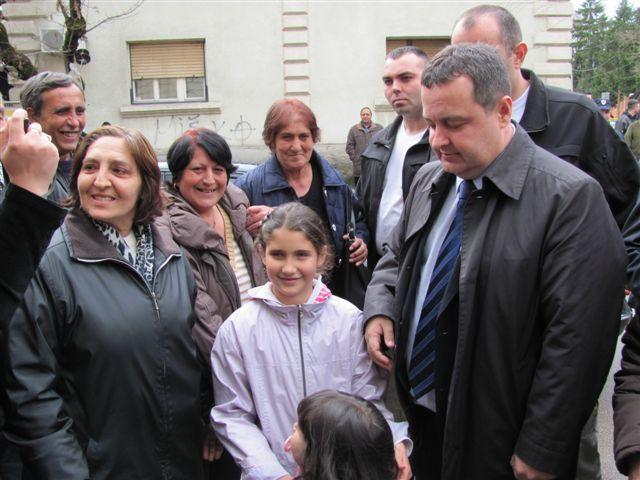 Dačić: Ulazim u drugi izborni krug
