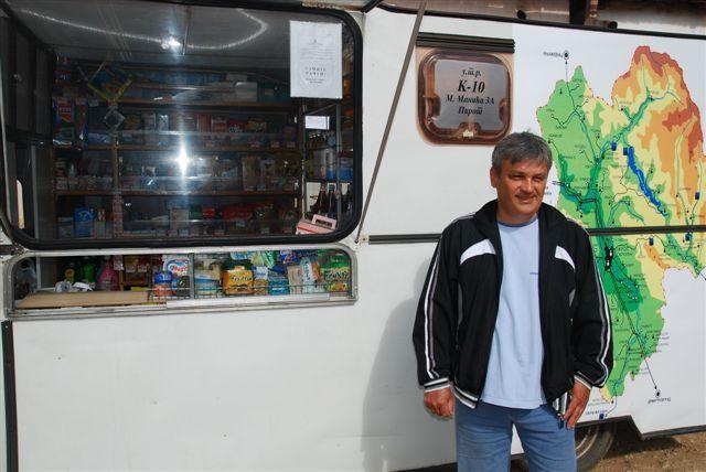 Piroćanac Marjan Ćirić otvorio prvu pokretnu prodavnicu