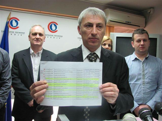 URS deli Leskovac na više opština