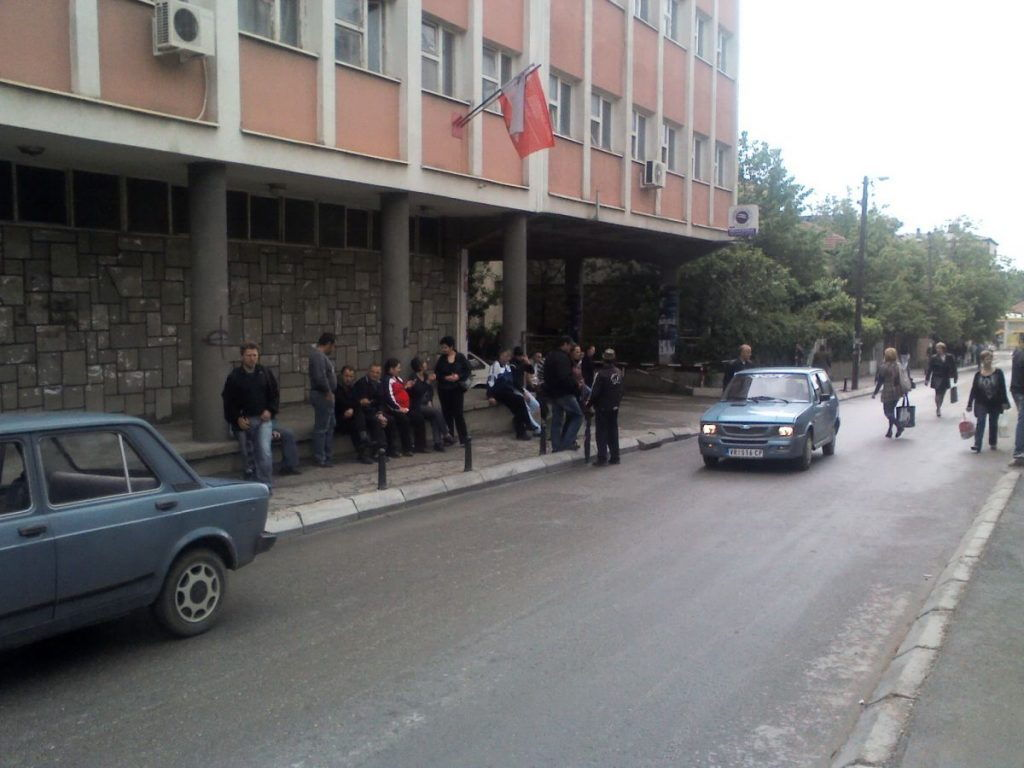 """Protest zbog """"izbornih"""" dnevnica, upad u kancelarije"""