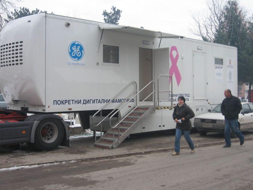 Mamograf u Merošini