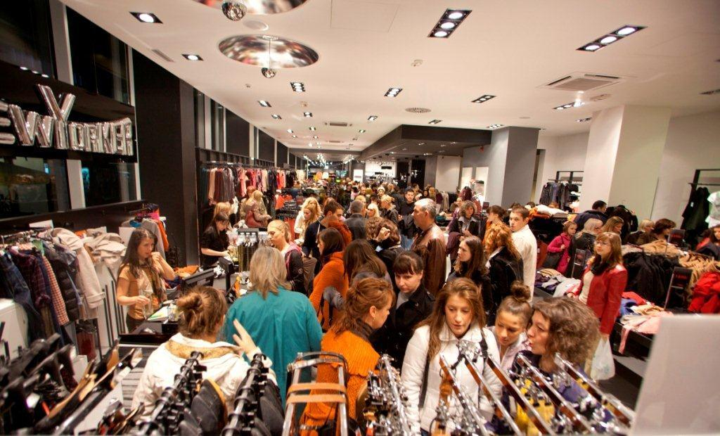 """Grazia shopping night"" u Forum šoping centru"