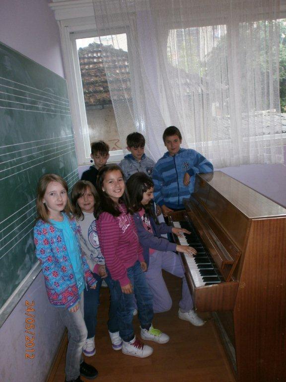 Novi polaznici muzičke škole