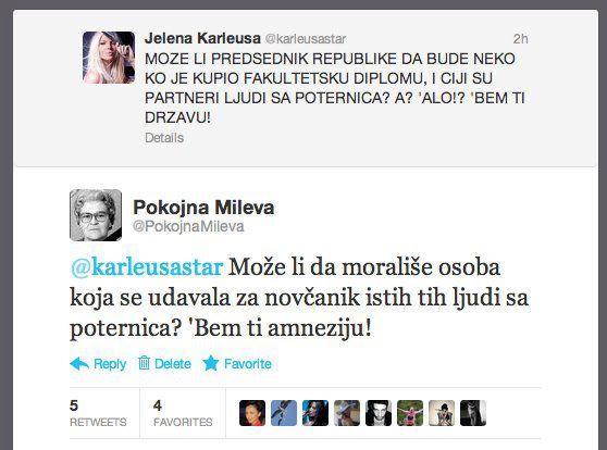 Pokojna Mileva hara društvenim mrežama