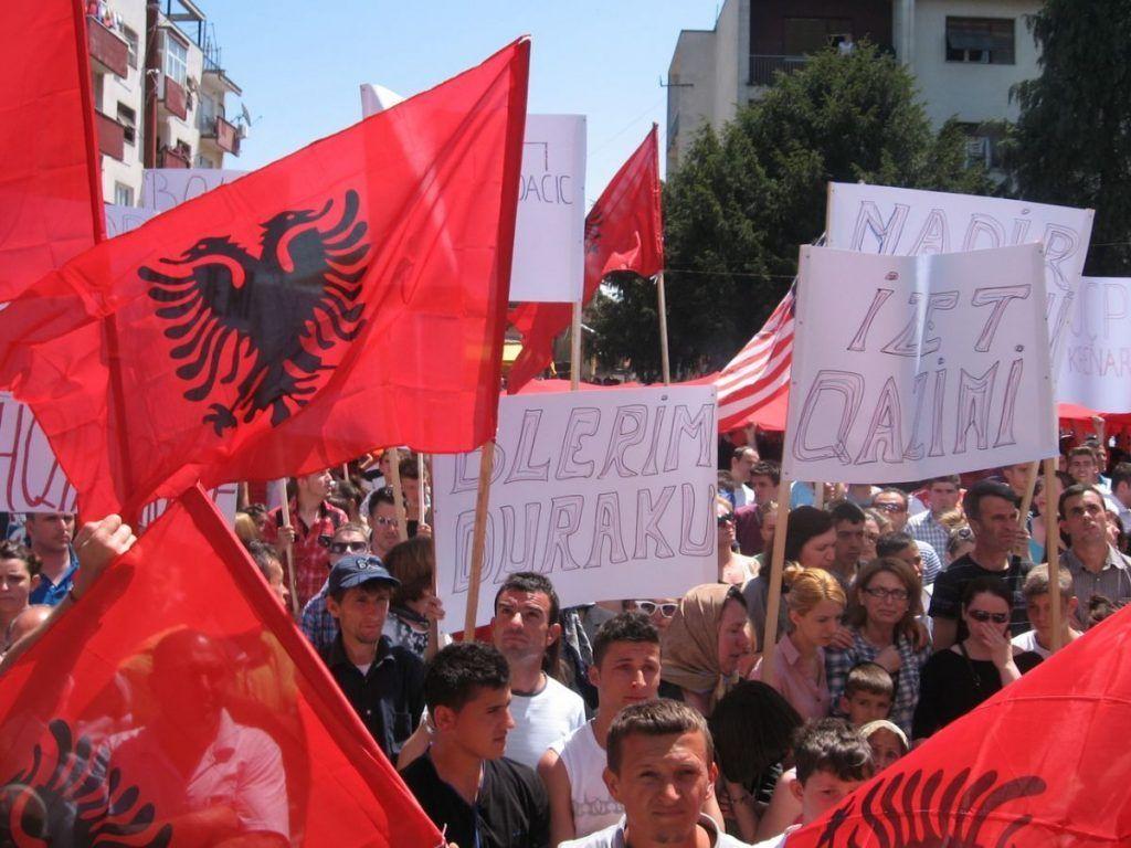 Albanci protestvovali u Bujanovcu