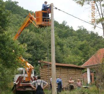 Sedam sela u ponedeljak bez struje