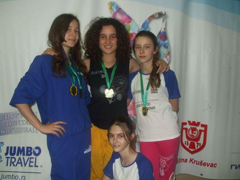 Devet plivača osvojilo 5 medalja