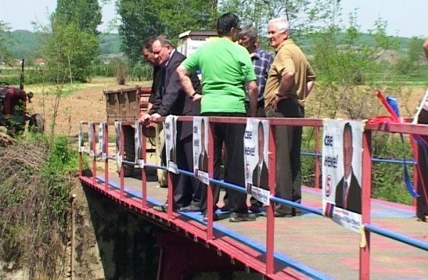 Naprednjaci izgradili most preko Veternice
