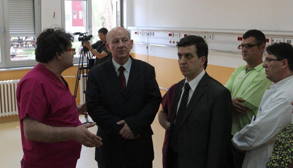 Ministar obećao novac za završetak Kardiohirurgije