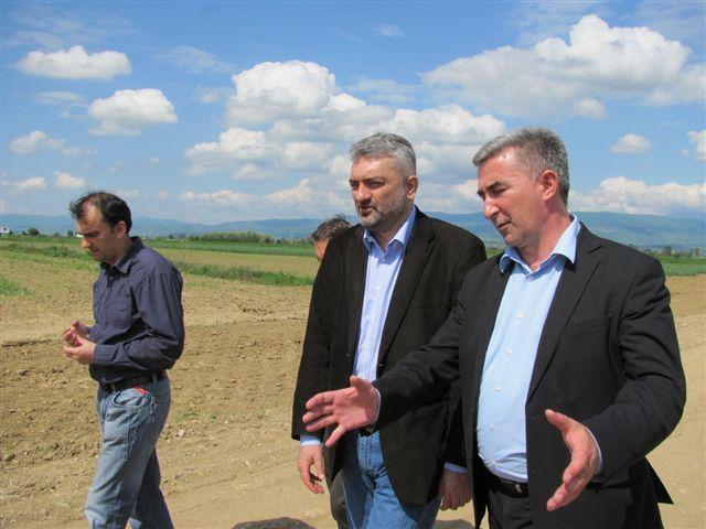 Ministar Petrović obišao Zelenu zonu
