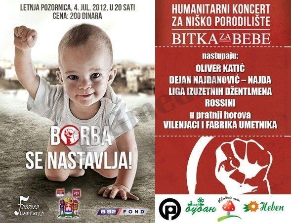 Humanitarni koncert za niško porodilište