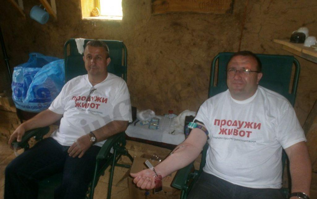 Policija organizuje akciju dobrovoljnog davanja krvi