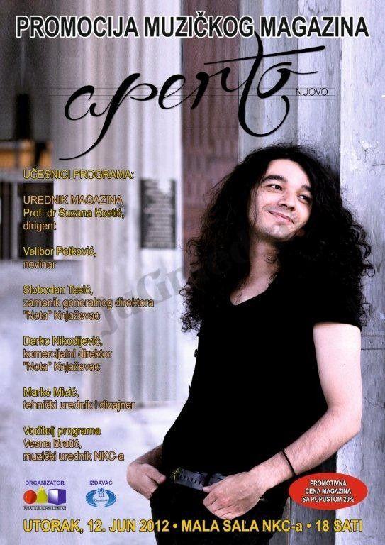Novi početak muzičkog časopisa APERTO