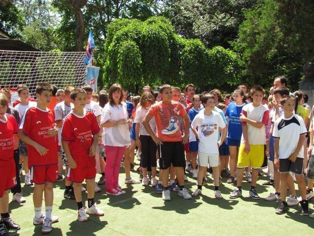 Takmičarski karneval na Dečijoj olimpijadi