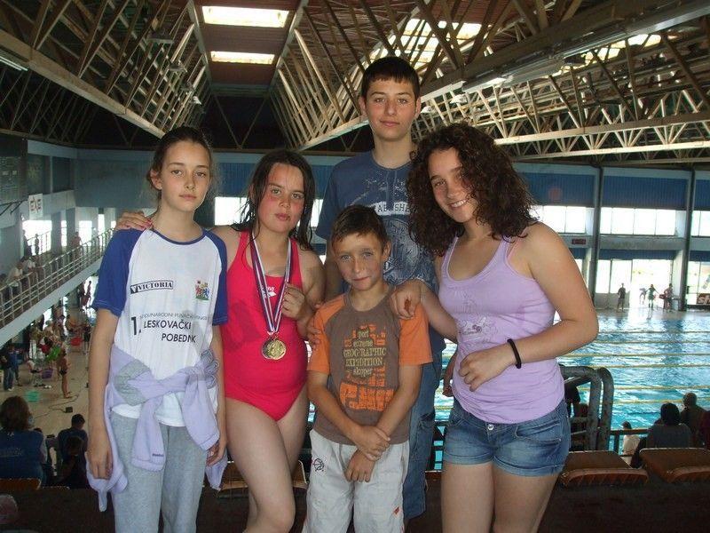 Leskovački plivači osvojili 5 medalja
