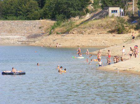 Krajkovačko jezero – omiljeno letnje izletište