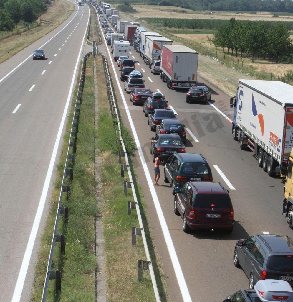 Usporen saobraćaj kroz Grdeličku klisuru zbog udesa