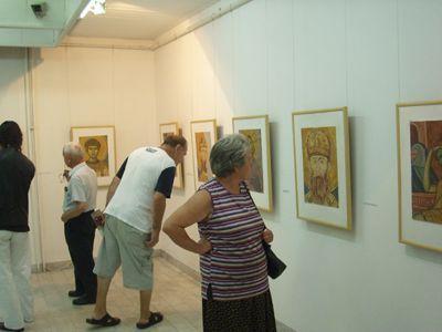 Izložba kopija fresaka Bogorodice Ljeviške