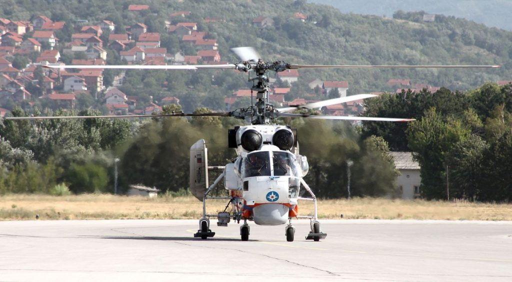 Sleteo ruski helikopter