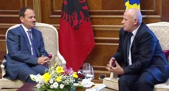 Predsednik Albanije u Prištini primio lidere Albanaca s juga