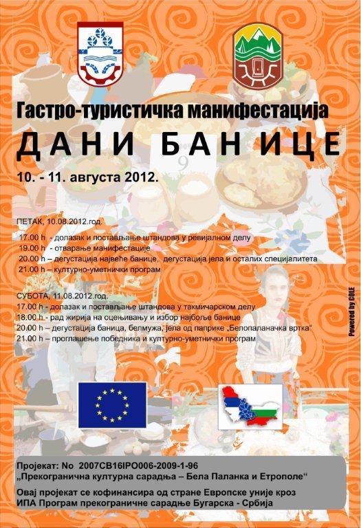 Dani banice promovišu kuhinju juga Srbije