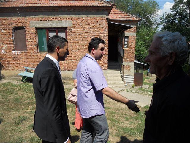 Predsednik Lepojević obišao porodice stradalih vojnika