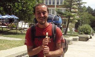Francuz Tuano Taunu obilazi Srbiju pešice