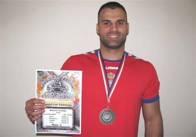 Leskovčanin svetski vicešampion u powerliftingu