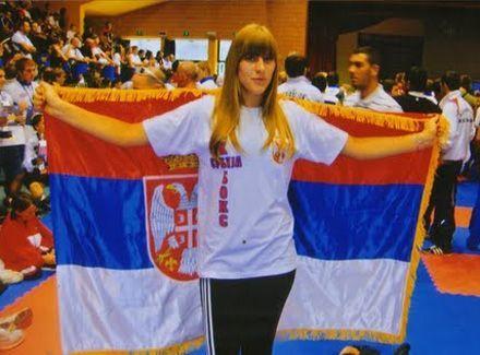 Dragana Sretenović iz Vranja postala evropska prvakinja u kik boksu