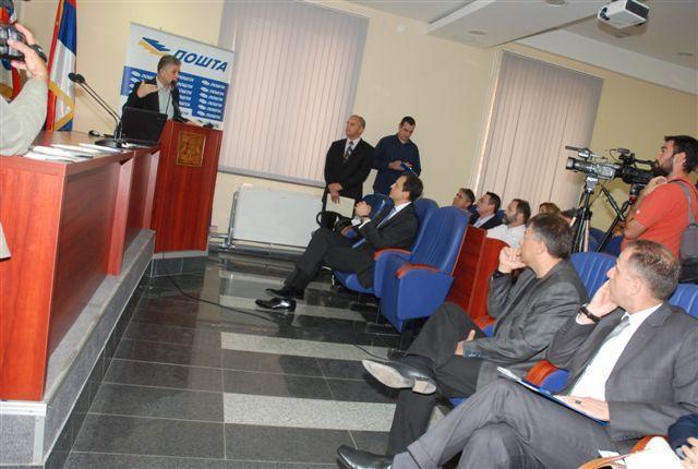 Ćirić obećao novu poštu u Surdulici