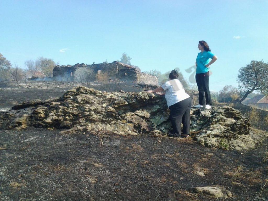 Izgorele kuće, pčelinjaci i krave, povređen čovek