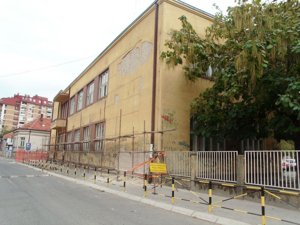 "Obnova dela fasade ""Josifa Kostića"""