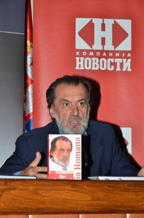 Promocija novog romana Vuka Draškovića