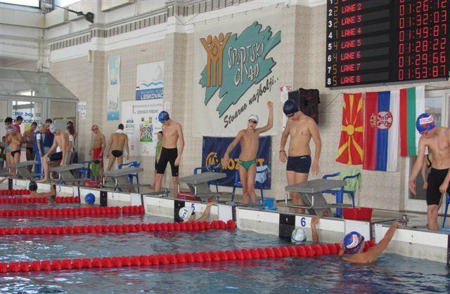 Međunarodni plivački miting u Leskovcu