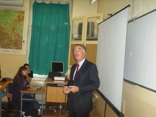 Ambasador održao predavanje