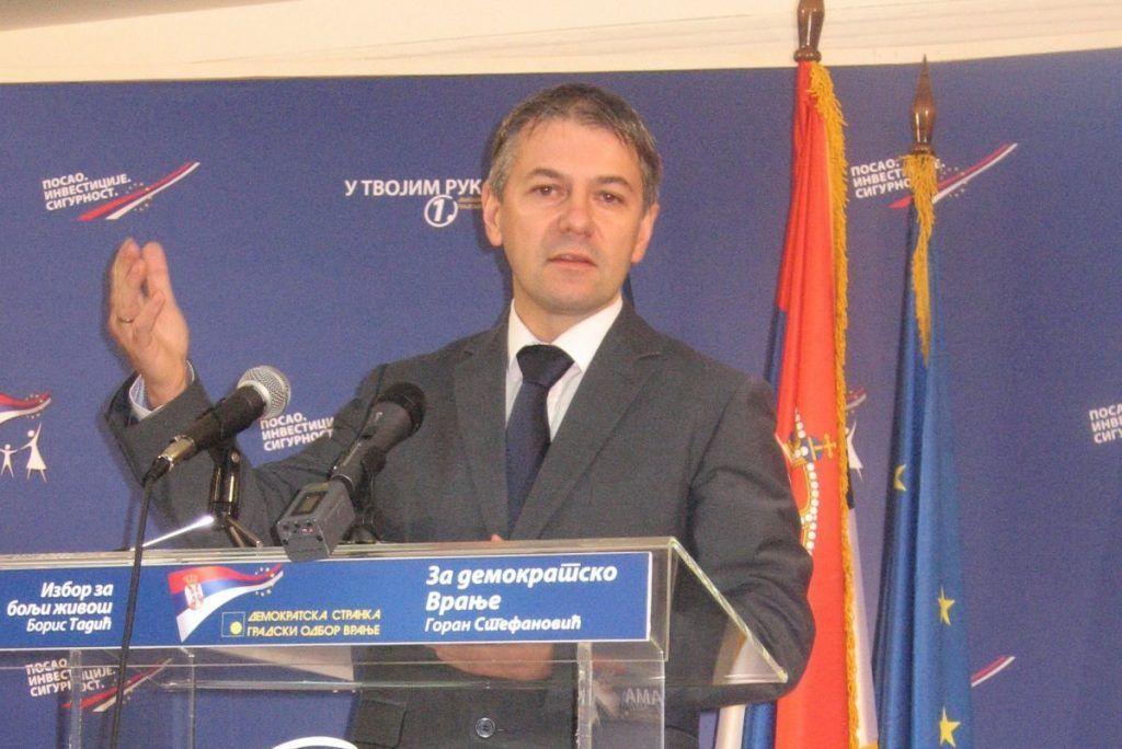 Goran Stefanović predsednik Okružnog odbora DS -a