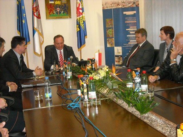 Poljski diplomata u poseti Leskovcu