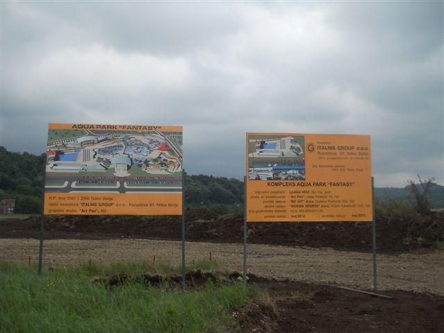 Ultimatavni rok za graditelje akva parka u Nišu